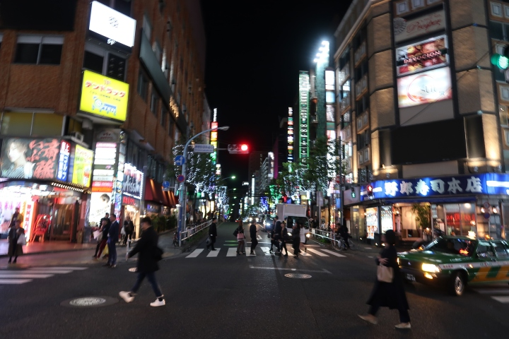 A venture intoShinjuku