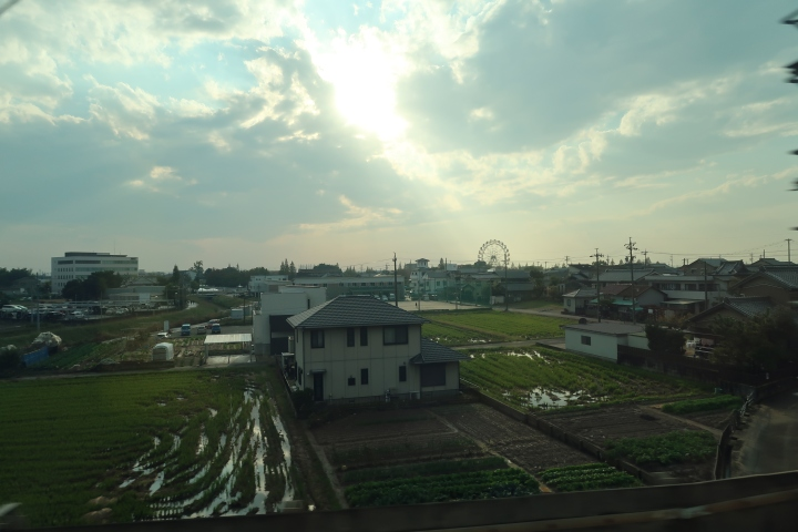 A glimpse of Japan: Japanese countryside