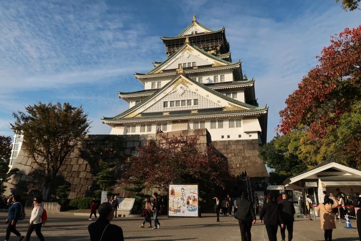 Exploring Osaka Castle