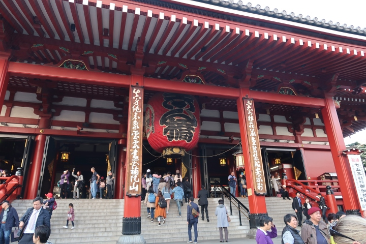 Visiting Sensoji Temple